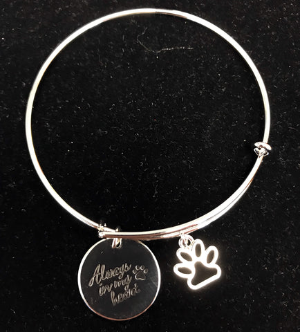 """Always in my heart"" Bracelet"