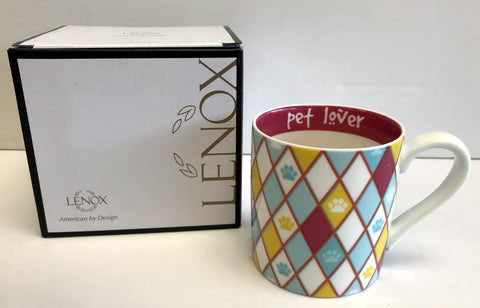 Lenox Pet Lover Mugs (Set of 4)