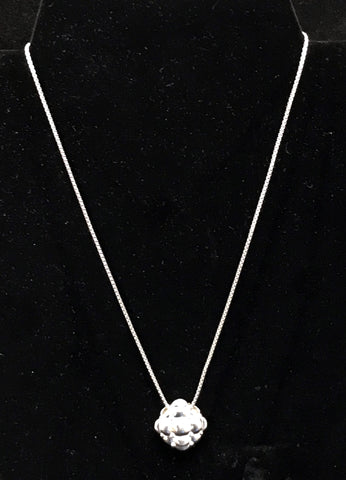 Charles Krypell Sterling Silver & 18k Gold Tufted Pendant