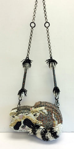 "Mary Frances Bag - ""Bandit"""