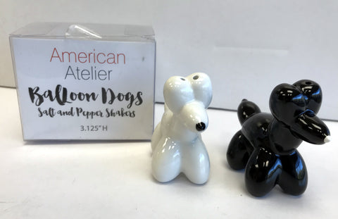Balloon Dogs Salt & Pepper Shakers