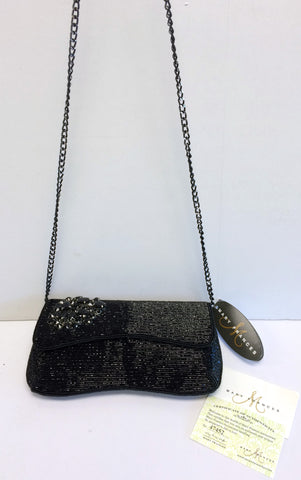 "Mary Frances Clutch - ""Jet Black"""