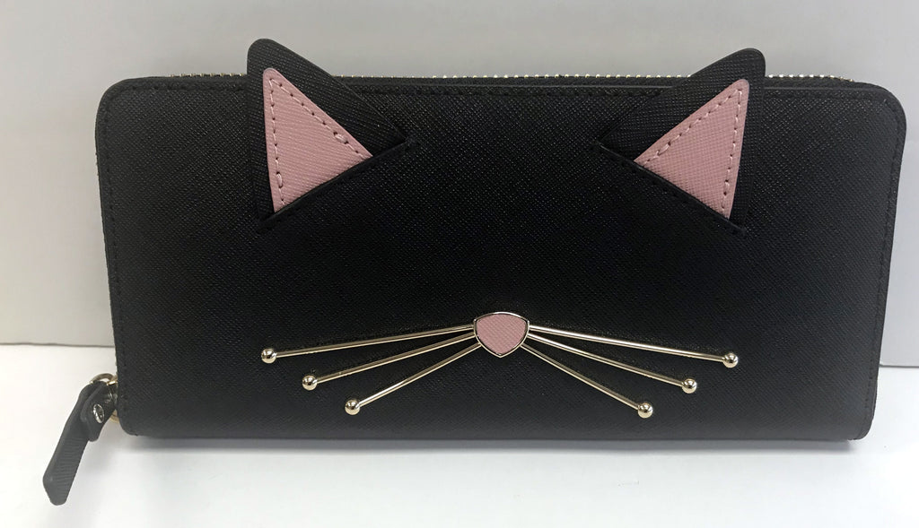 "Kate Spade ""Cats Meow"" Lindsey Wallet"