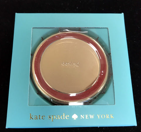 "Kate Spade ""Darling"" Two Mirror Compact by Lenox"