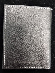 Bass Leather Card Holder with RFID Signal Blocking (Black)