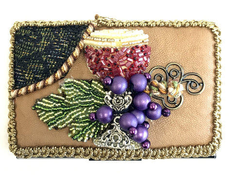 Mary Frances Business Card Holder