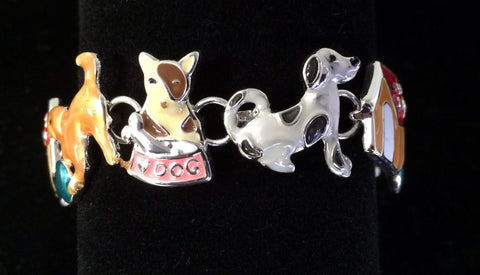 Dog Bracelet with Magnetic Closure