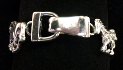 Horse Bracelet with Magnetic Closure