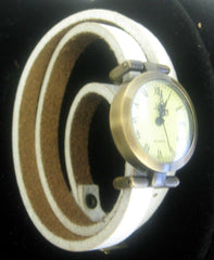 Leather Wrap-Around Watch (available in seven colors)