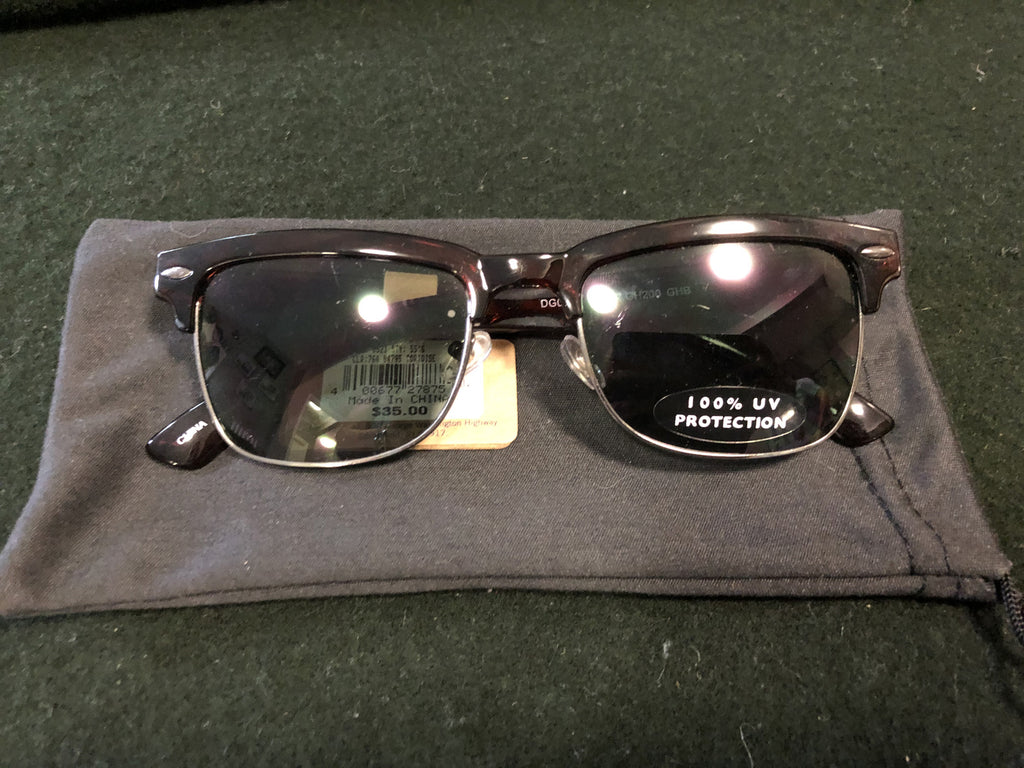 Men's Tortoise Sunglasses in Bag