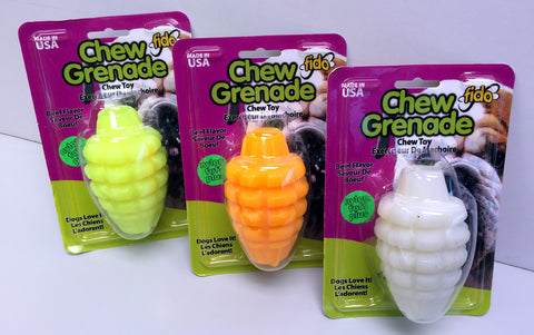 Medium Chew Grenade Extra-Tuff Chew Toy