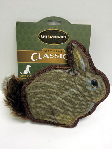 """Classicz"" Durable Rabbit Dog Toy"
