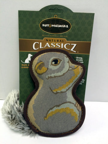 """Classicz"" Durable Squirrel Dog Toy"