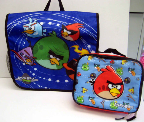 Angry Birds Space Messenger Bag & Lunch Box