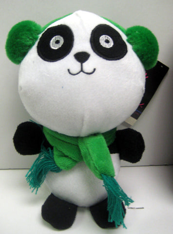 Plush Panda Dog Toy