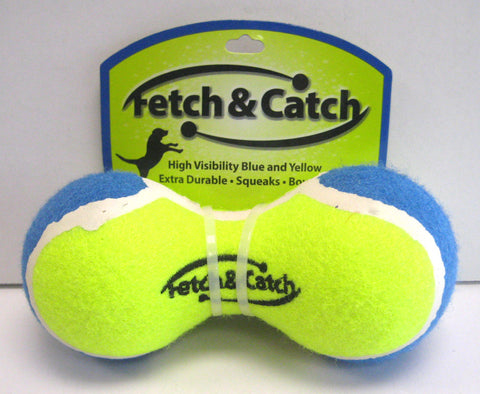 """Fetch & Catch"" Dumbbell Toy"