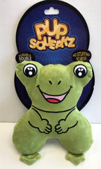 """Pup Squeakz"" Frog Dog Toy"