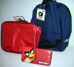 Angry Birds Backpack, Lunch Box & Wallet