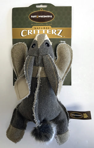 """Critterz"" Rabbit Dog Toy"