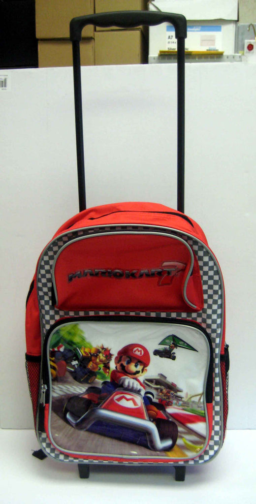Mario Bros Trolly Backpack/Suitcases