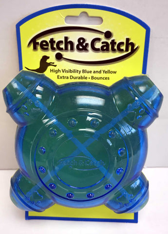 """Fetch & Catch"" Durable Treat Dispenser Dog Toy"