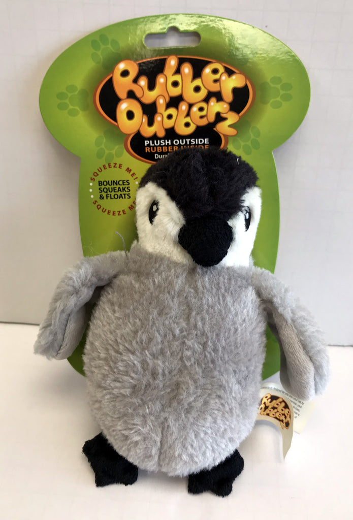 """Rubber Dubberz"" Penguin Dog Toy"