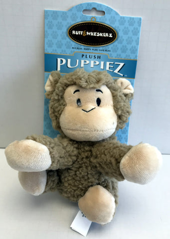 """Plush Puppiez"" Monkey Dog Toy"