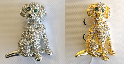 Dog Pins (Choice of 2 Colors)