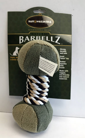 """Barbellz"" Dog Toy"