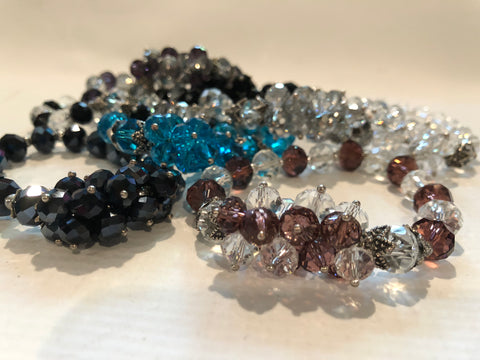 Stretch Crystal Bracelet (Various Colors)