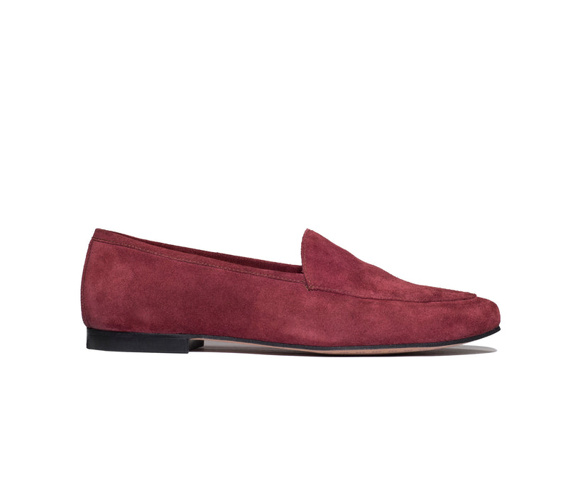 the classic loafer burgundy