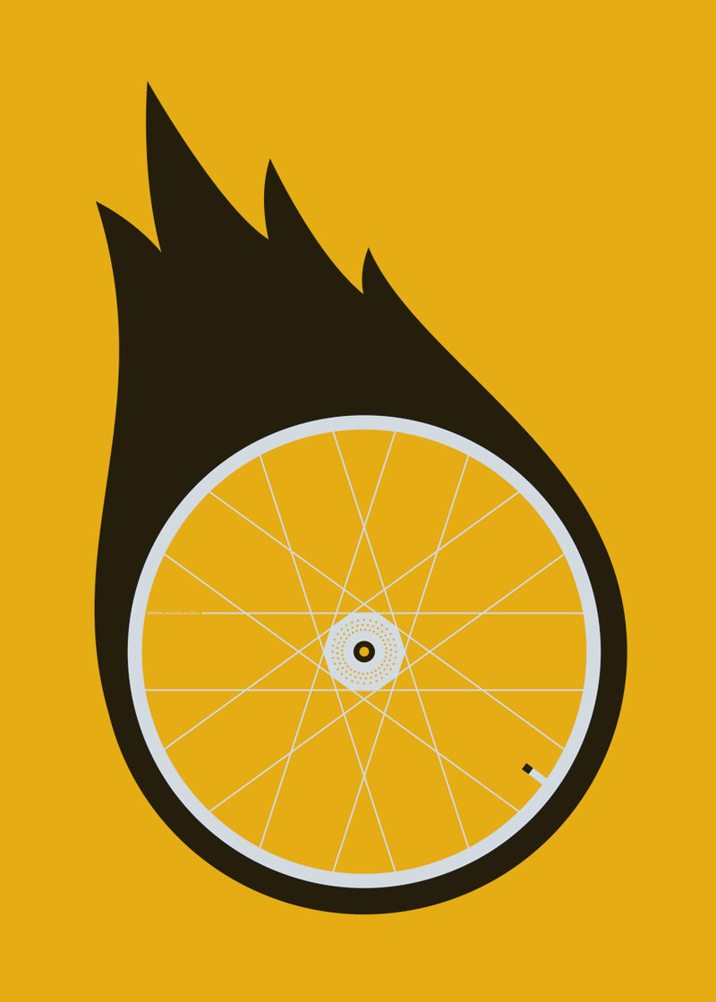 Plakat Burning Wheel
