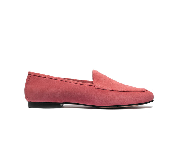 the classic loafer coral