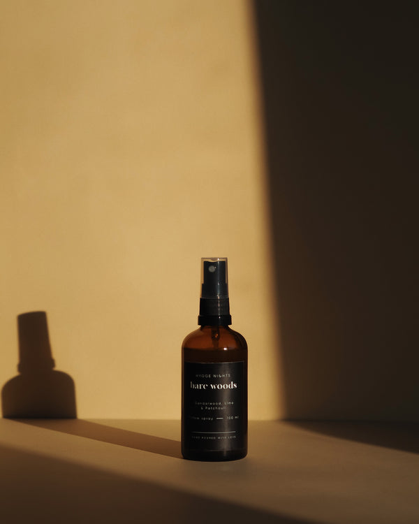 Bare woods pillow spray