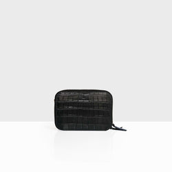Mandel Bag Black Croc Mat