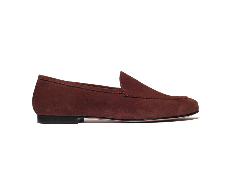 the classic loafer brown