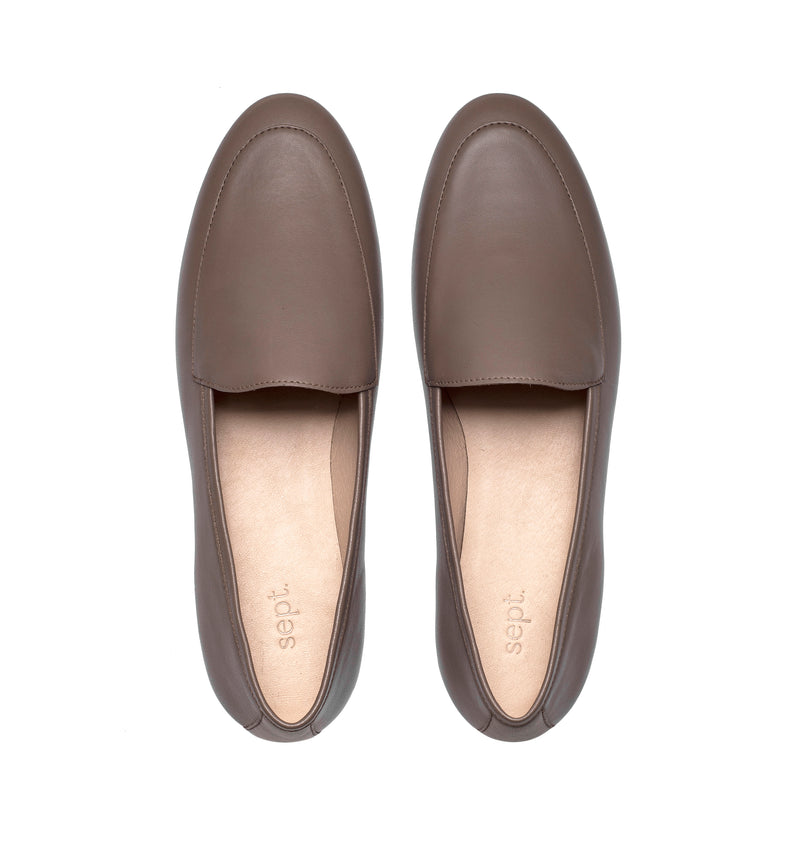 the classic loafer grey
