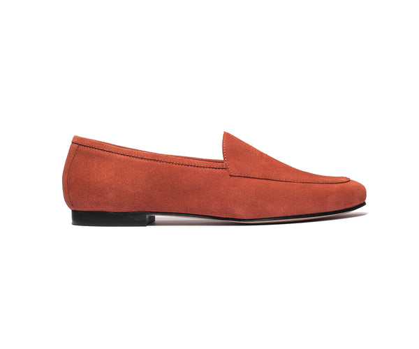 the classic loafer rust