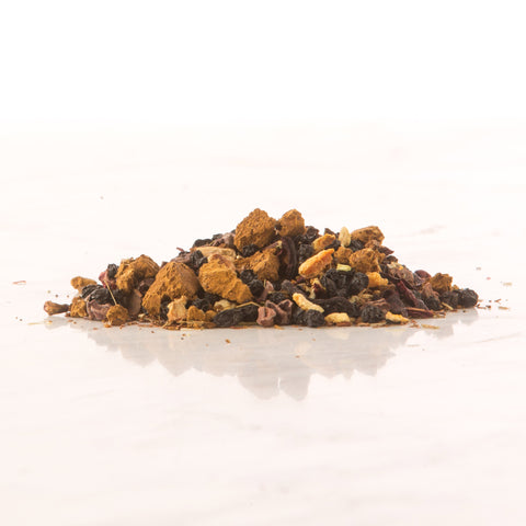 Elderberry Tea, Reishi Mushrrom Tea, Chaga Mushroom tea, Adatogens, Ginger,