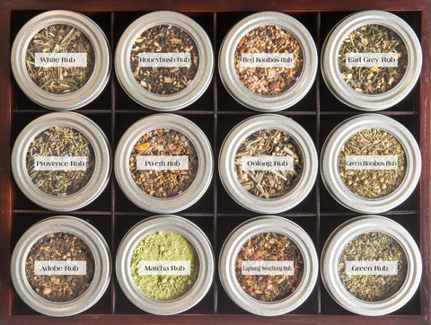 Tea, Spice and Salt Rubs