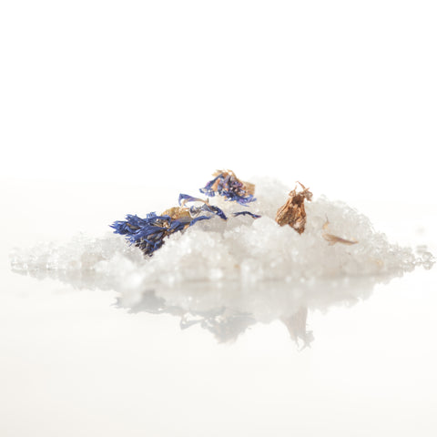 5th Chakra Bath Salts, Vishuddha Bath Salts, Throat Chakra Bath Salts