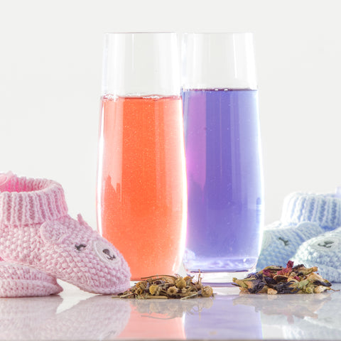 Gender reveal tea, pnk tea, blue tea, baby boy tea, baby girl tea, Baby sex reveal tea, baby reveal tea