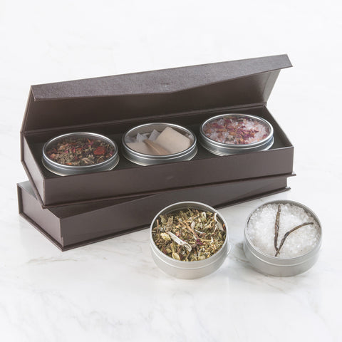 Chakra Tea & Bathing Tea Salt Set
