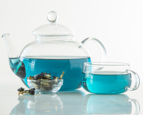 Butterfly Pea Flower Tea, Blue Tea, Cobalt Blue Tea