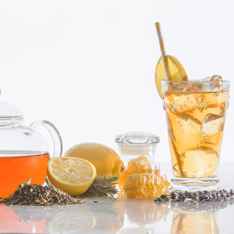 Lemon Tea, Lavender Tea, honeysuckle tea, honeybush tea