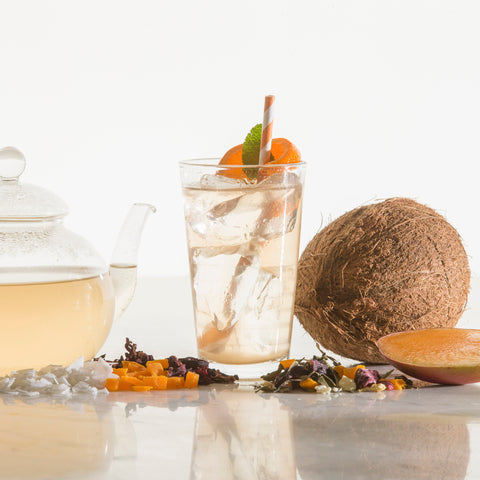 Coconut Tea, Mango Tea, Hisbicus Tea