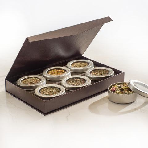 Six Tea Set: Select Healing Collection