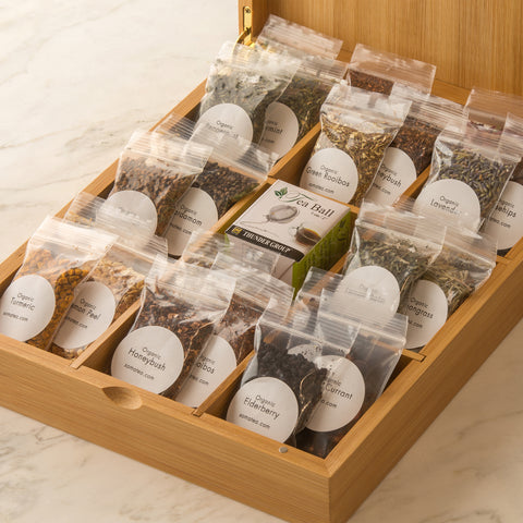 Tea Kit, Make your own Tea Kit, Design your own tea kit