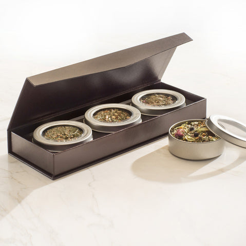 Three Tea Set: Floral Collection