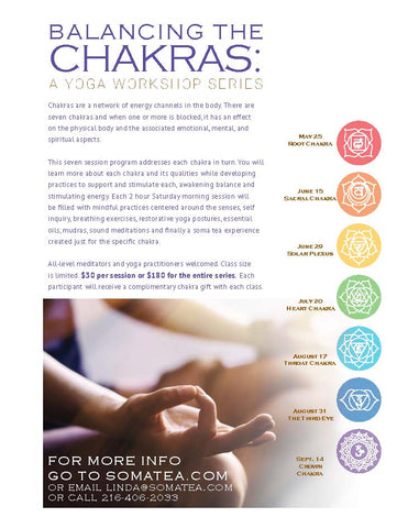 Balancing The Chakras Workshops
